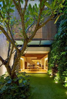 Diseño de Interiores & Arquitectura: Residencia Privada Renovada en Singapur