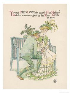 Walter Crane - A Flower Wedding -  no.03