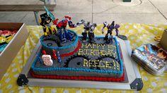 Transformers cake