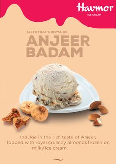 Presenting our latest Flavour Of The Month – rich Anjeer Badam!