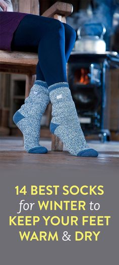 14 Best Socks for Winter That Keep Your Feet Warm and Dry