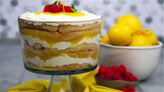 Even your Nonna will approve of this non-traditional Tiramisu recipe. It can be made up to 2 days ahead of time and makes the perfect finish to any dinner party. Traditional Tiramisu Recipe, Lemon Tiramisu, Glass Baking Dish, Lemon Curd, Sweet Tooth, Food And Drink, Sweet Treats, Sweet Cooking, Delicious Deserts
