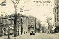 """Après guerre """" rue d'Alésia """""""