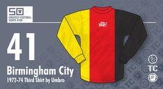 [50GFSE] #41 - Birmingham City 1972-74 Third Shirt by Umbro ~ The Football Attic