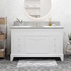46 Kelton L Baths Ideas Single Sink Vanity Single Bathroom Vanity Vanity Sink