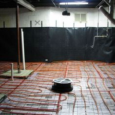 Radiant Heated Floor Pre Concrete Placement | Small House Ideas | Pinterest  | Concrete, Basements And House