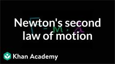 Newton's second law of motion Motion Physics, Classical Physics, Newtons Laws, Isaac Newton, Trigonometry, Academy Of Sciences, Calculus, Computer Programming, Economics