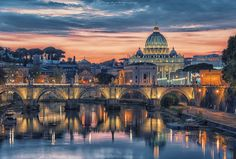 Sweet light over Rome by Manjik photography on 500px
