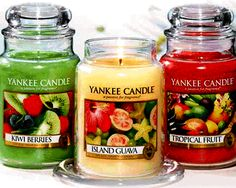 Yankee Candles..Yum!