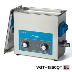 GT SONIC Weapons ultrasonic cleaner for guns washing with basket, with timer and heater 110V, 220V VGT-1860QT