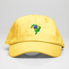 826822b9 Brazil Baseball Cap/Dad Hats with Country Flag embroidered for sale on  cvltura.com