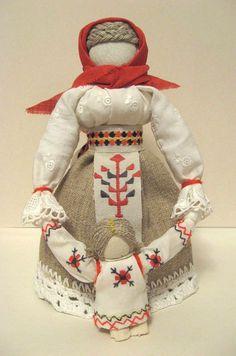 Leading doll.Traditional Folk Russian cloth Doll