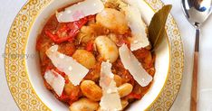 Slow Cooker Gigantes Beans, Slow Cooker Gigantes Beans with Tomatoes & Pancetta, Slow Cooker Recipes