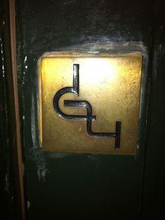 sign on the door.....