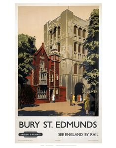 British Railways ~ Bury St. Edmunds ~ England