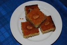 Nammura is a traditional and common sweet in Lebanon, Syria, Jordan, Palestine. This nammura recipe is easy and delicious authentic Lebanese...