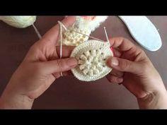 Çeyizlik Çiçek Patik Modeli - YouTube