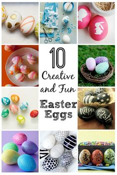 Easter Egg Decorating: 10 Creative and Fun Ideas