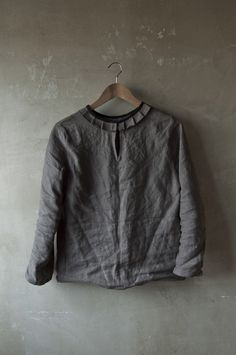 beautiful grey tunic