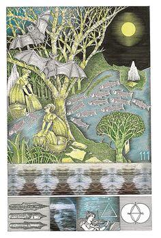 John Vernon Lord�s Whimsical Illustrations for James Joyce�s Finnegans Wake