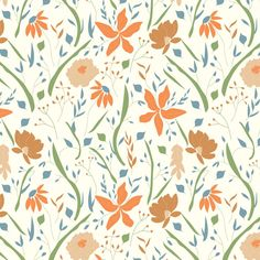 Surface Pattern Design, Texture, Retro, Drawings, Illustration, Floral, Flowers, Prints, Inspiration