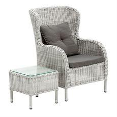 Brighton Armchair & Stool   Freedom Furniture and Homewares