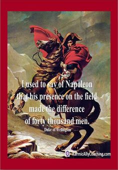 Napoleon is an excellent example of #Executive Presence and #Gravitas. Do you use your feet for power? via @karmically