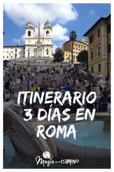 ¿Viajas a Roma? Te compartimos una sugerencia de itinerario por 3 días en la ciudad.  #guia #Roma #viajararoma #italia #itinerario #viajarenfamilia Rome Travel, Italy Travel, Beautiful Places To Travel, Wonderful Places, Roma Card, Travelling Tips, Traveling, Travel Tips, Best Of Italy