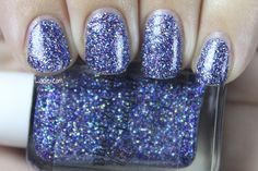 Swatch of Blue-Eyed Girl Lacquer's 2000 Years
