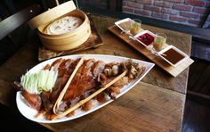 Decoy - just below RedFarm in the West Village Peking duck feasts 529-1/2 Hudson Street NYC 212-691-9700