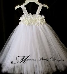 Baby Christening Dress / Baby Confirmation by ManaiaBabyDesigns, $68.00