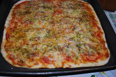 Pizza con salame... piccante!