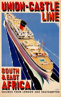 Union Castle Line S & E Africa