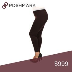 COMING SOON! (Plus) Black leggings Coming soon! Please like this listing to be notified when it becomes available  🚫Current list price is not what this will be listed at 🚫estimated date of arrival: 3/4 Pants Leggings