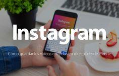 Instagram: Cómo guardar los vídeos emitidos en directo desde iPhone http://blgs.co/N3vD_8