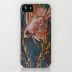 Something is Fishy iPhone & iPod Case by RokinRonda - $35.00