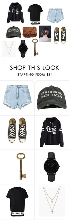 """Jen"" by hipster-chik ❤ liked on Polyvore featuring Nobody Denim, Converse, WithChic, CLUSE, Givenchy and LOFT"