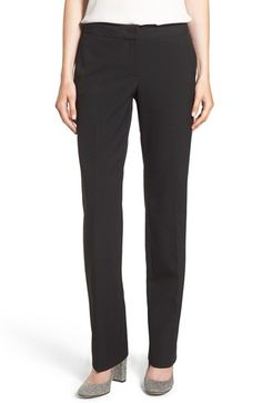 Halogen® 'Taylor - Ela' Straight Leg Suit Pants (Regular & Petite) at Nordstrom.com. A straight-leg cut of favorite curvy-fit pants is tailored from a stretch-infused suiting fabric that's lightweight enough to wear now.