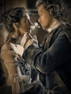 Claire Fraser, Jamie Fraser, Jamie And Claire, Historical Romance Books, Diana Gabaldon Outlander, Sam Heughan Outlander, Book Boyfriends, Romantic Movies, Outlander Series