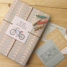 10 Papeles de regalo - Surtido Mr.Wonderful. Se venden en: www.mrwonderfulshop.es #papeles #regalos #DIY