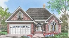 The Ashmore House Plans First Floor Plan - House Plans by Designs Direct.