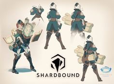 ArtStation - Sharbound! Pre-Alpha Release, Nicholas Kole