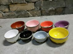 Bunte Keramik aus Marokko