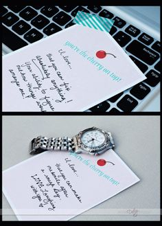 sweet printable love notes