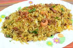 This weekend I got an invitation for a potluck party and I was asked to bring some kind of rice. After debating, I narrowed down on Veg Dum Biryani. I prepared the vegetables, rice and garnishing s...