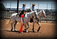 My little girl Isabelle competing in cowboy action mounted at 5years old