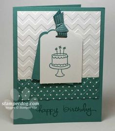 Is This Card in Your Mailbox? - Stampin Up! Demonstrator Ann M. Clemmer & Stamper Dog Card Ideas