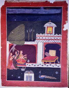 Bangal Ragini. Central India Ragamala