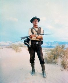 "Paul Newman in the 1967 film, ""Hombre"""