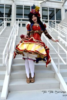 Steampunk Snow White 4 by TeaTimeCostuming